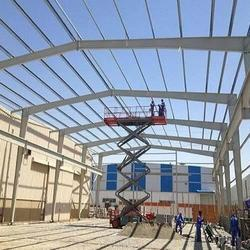 Erection Of Steel Structure Work Services