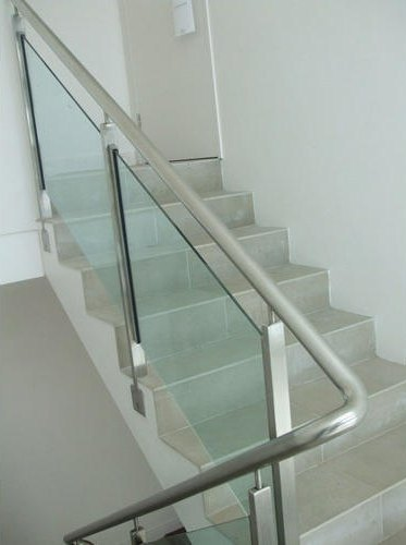 Jindal 304 Grade Toughened Stainless Steel Glass Railing ...