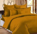 Sateen Striped Double Bed Sheet Cotton