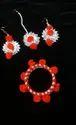 Wedding Earring Gota Jewellery