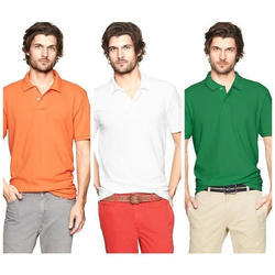 Mens Polo Neck T Shirt