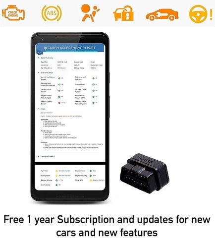 CaRPM OBD Scanner for Garages with Special Functions