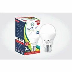 9 W LED Bulb, Voltage: 90-240 V AC