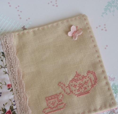 SKE Embroidery Fushed Mat, Size: 33 x 48 cm