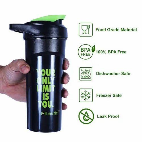 Premium Shaker Bottle Black