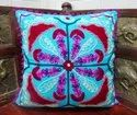 Woolen Embroidered Handmade Cushion Covers