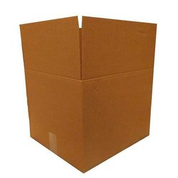 Cardboard Plain Industrial Corrugated Boxes, For Apparel, Rectangle