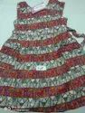 cotton printed casual frocks for 2yrs