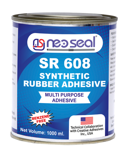 SR 608 Footwear Synthetic Rubber Adhesive