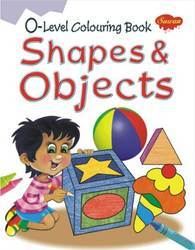 0 Level Colouring Book Shapes & Objects