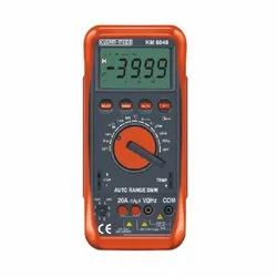 Auto Ranging Digital Multimeter With Terminal Blocking Protection System KM 6040