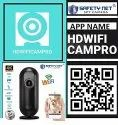 SAFETYNET Hottest 4K WiFi Air Freshener Camera With Long Battery Backup