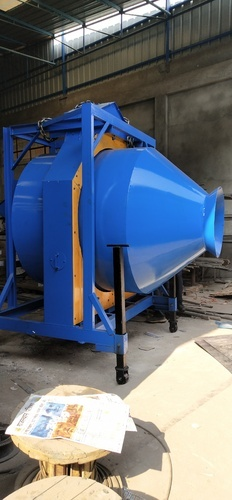 Stainless Steel Reverse Rotation Batching Plant