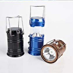 Solar Lantern Emergency Light Mobile Charger for Travel