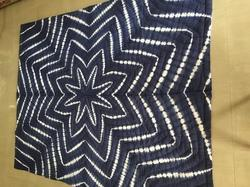 Indigo Shibori Quilted Cotton Quilts