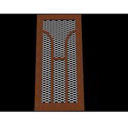 Wooden Wire Mesh Door