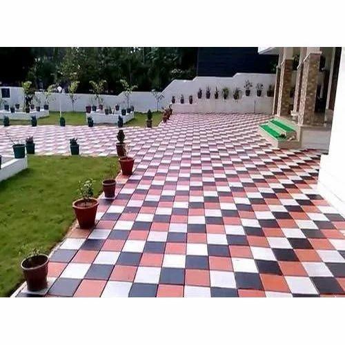 Garden Floor Tile Size 2x2 Feet