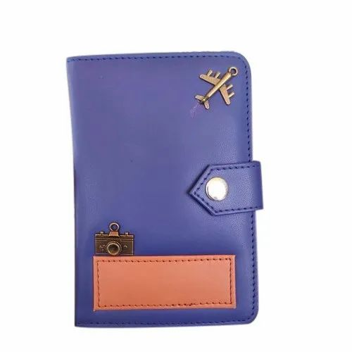 Blue Paper Leather Pocket Diary, Yearly, Packaging Type: Packet