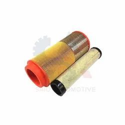 Air Filter Element Set Inner & Outer For JCB 3CX 3DX Backhoe Loader - Part No. 32/915801 32/915802