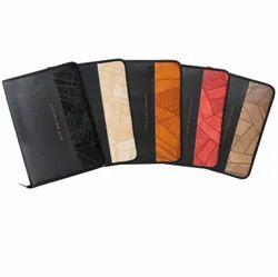 Zipper Faux Leather Executive File Folder, Packaging Type: Carton, Size: 15 X 10