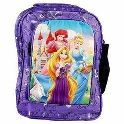 AV Nylon Kids Printed School Bags