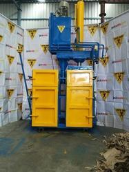Double Chamber Hydraulic Scrap Baling Press
