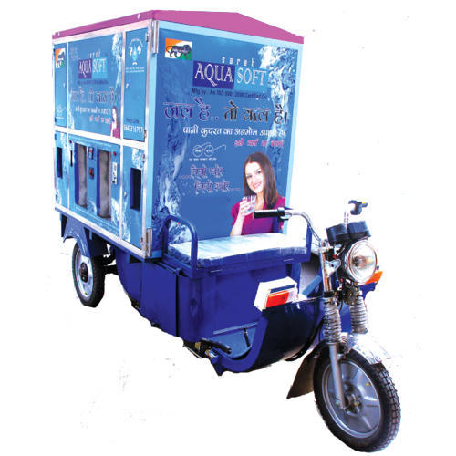 E-Rikshaw Water Vending Machine