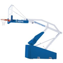Portable Height Adjustable Basketball Posts