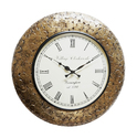 Coin Wall Clock, Size: 18x18x12