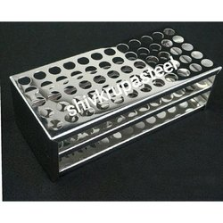 Stainless Steel Test Tube Rack