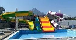 FRP Water Park Slide