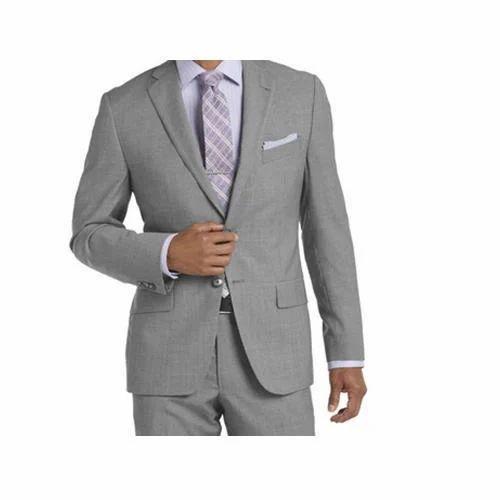 Men S Office Wear Suit Size 34 56 Rs