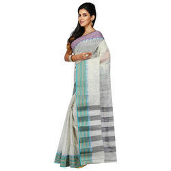 Ladies 100% Handloom Cotton Saree
