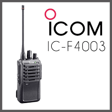 ICOM IC F 4003 UHF Walkies Talkie