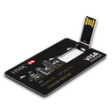 Promotional Credit Card Shape USB Pendrive