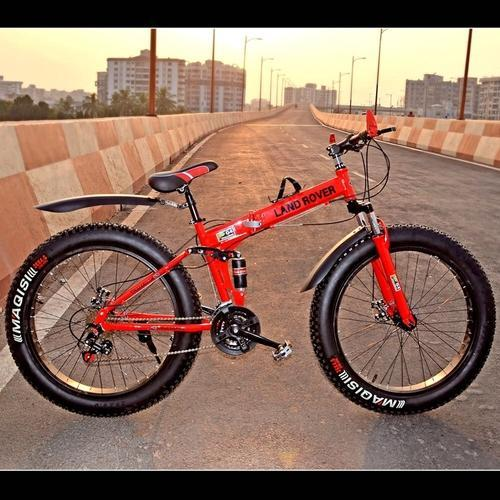 90ccfc550e3 RED FOLDING BICYCLE, Size: 26, Rs 17000 /piece, Gapuchee | ID ...