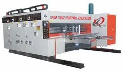 Automatic Corrugated Box Flexo Printing Slotter Rottery Die Cutting