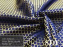 Nylon Dyeable Zari Jacquard Fabric