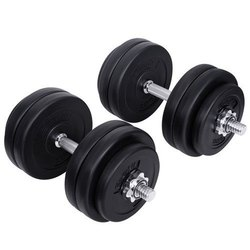 Plate Type Adjustable Dumbbells