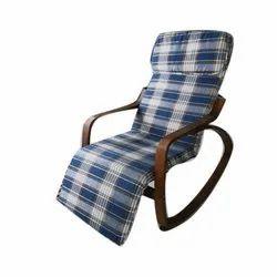 Raiccon Brown (Frame) Wooden Relax Chair