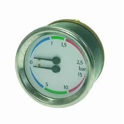 Double Scale Pressure Gauge