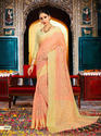 Trendy Silk Saree And Blouse Piece By Parvati Fabric