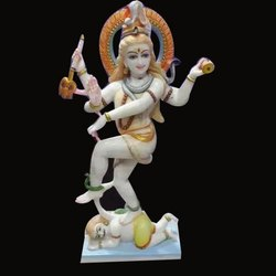 Marble Shiva Nataraja Statue