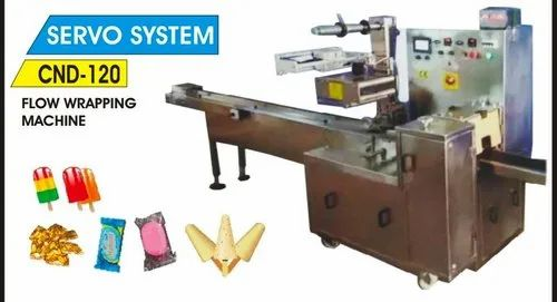 Automatic Flow Wrapping Machines