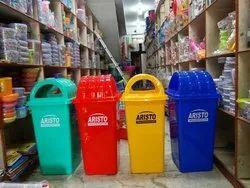 Aristo Square Plastic Garbage Waste  Dust Bin 80 Ltr