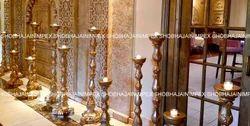 Candle And Diya Stand