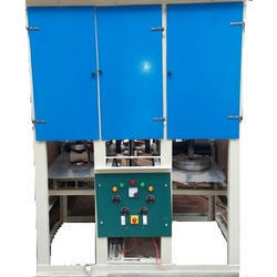 Double Die Fully Automatic Dish Making Machine