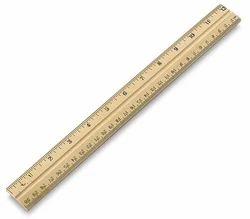 Half Meter Wooden Scale