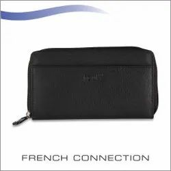 French Connection Womens Leather Wallet