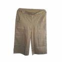 Slub Cotton Pants